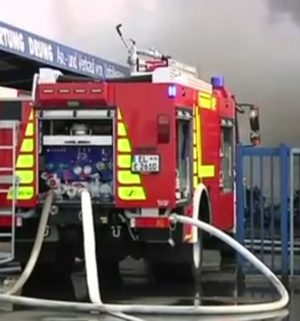 Großbrand in Emsbüren
