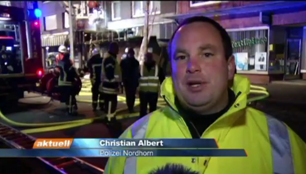 Brandstiftung fordert sechs Verletzte