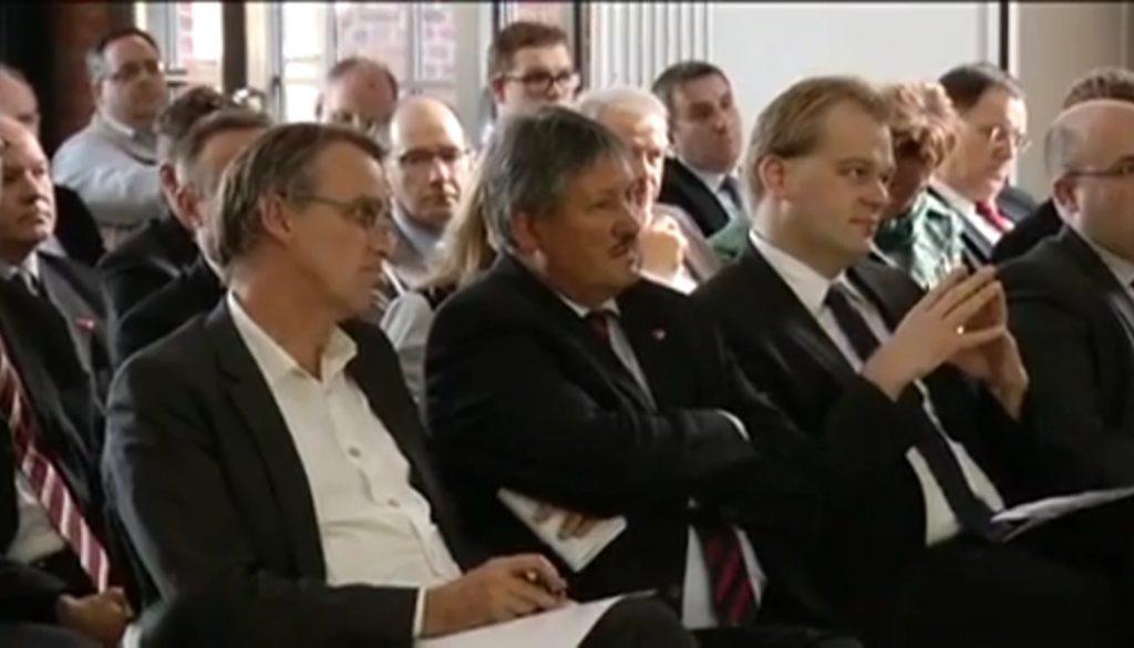 Minister Wenzel besucht Unternehmerforum Lingen