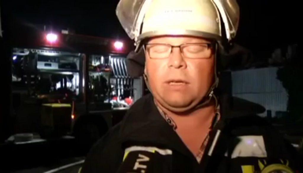 Feuer zerstört Scheune in Surwold