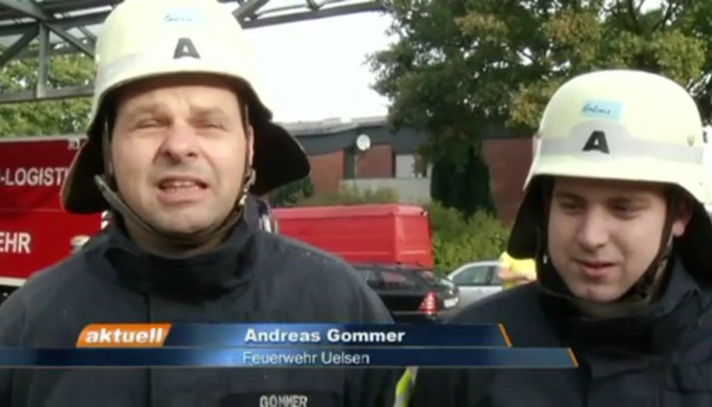 Feuerprobe für Grafschafter Einsatzkräfte