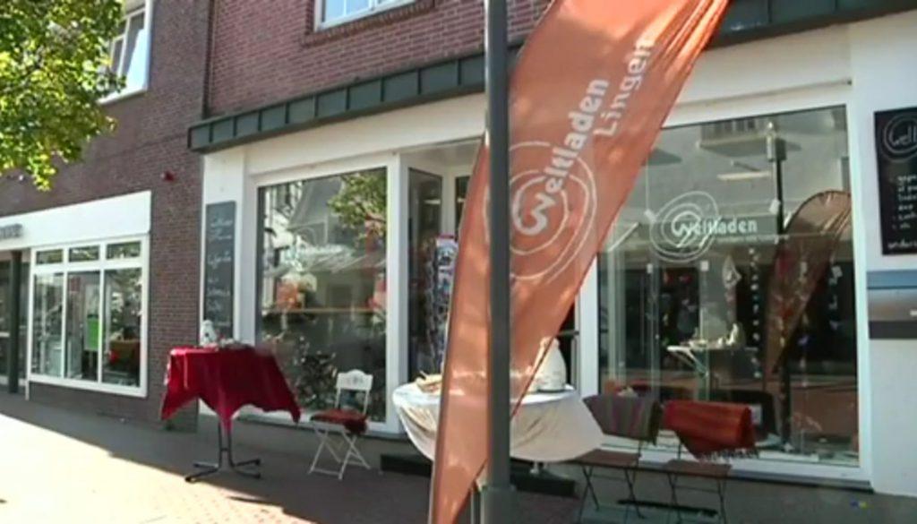 Neueröffnung des Weltladens in Lingen