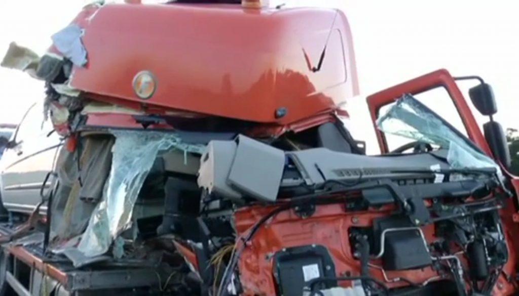 Unfall auf der A30: Probleme mit Rettungsgasse