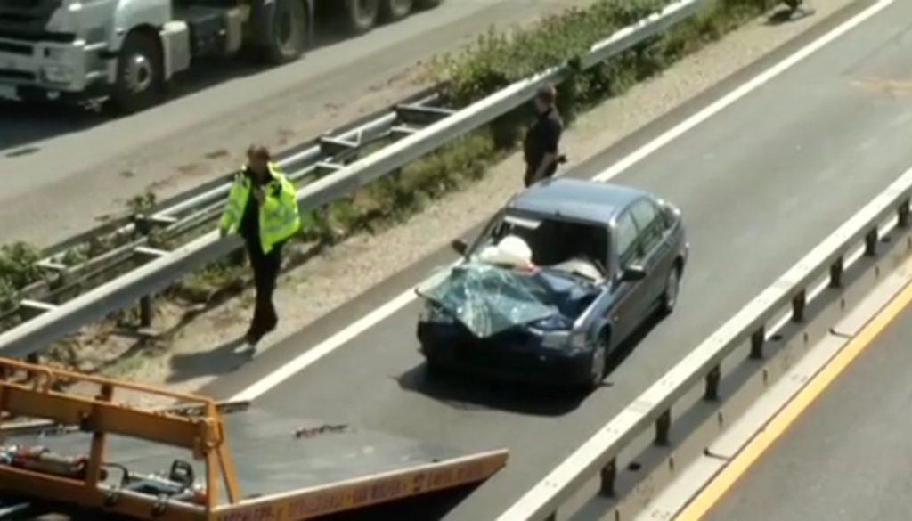 A31: Unfall in der Baustelle
