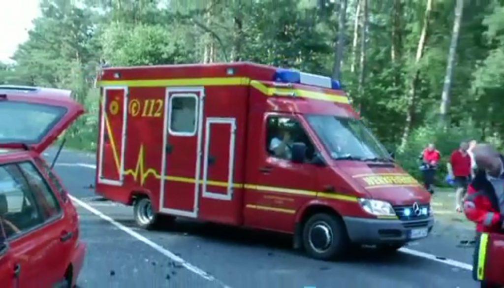 Fünf Verletzte bei Unfall in Lingen