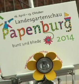Spatenstich im Stadtpark Papenburg