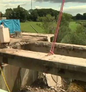 Alte Emsbrücke wird abgerissen