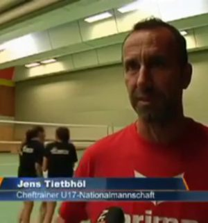 Volleyball: U17-Nationalmannschaft in Lathen