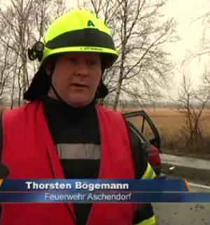 Unfall: Junger Mann schwer verletzt
