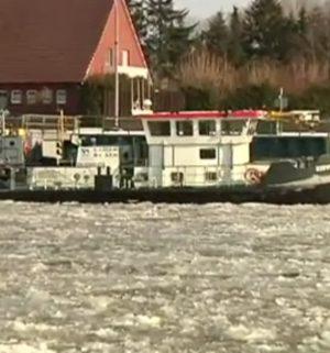 Eis: Dortmund-Ems-Kanal gesperrt