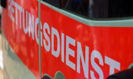 Rollerfahrer nach Unfall im Krankenhaus