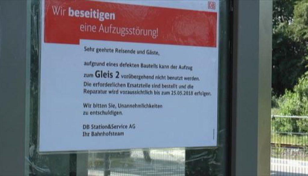 Stadt prüft rechtliche Schritte gegen Deutsche Bahn