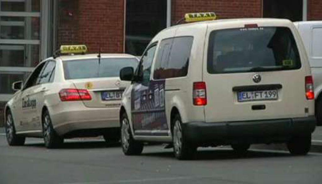 Taxifahren wird teurer
