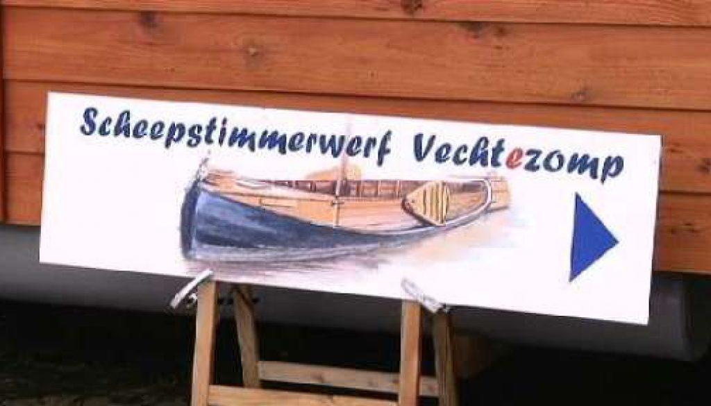 """Projekt """"Historische Schifffahrt mit der Vechtezompe"""" - Scheckübergabe"""