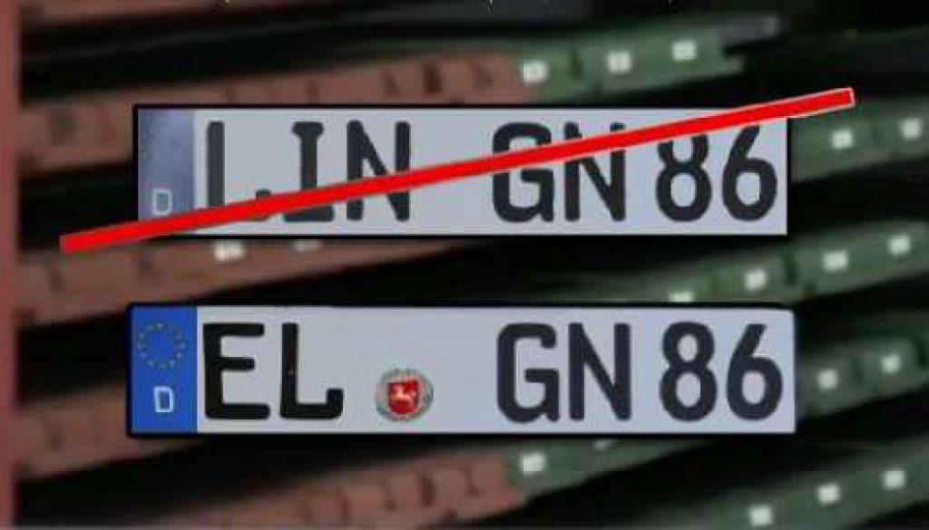 """Autokennzeichen """"EL"""" bleibt"""
