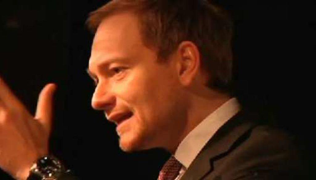 Lindner bei FDP Parteitag in Nordhorn