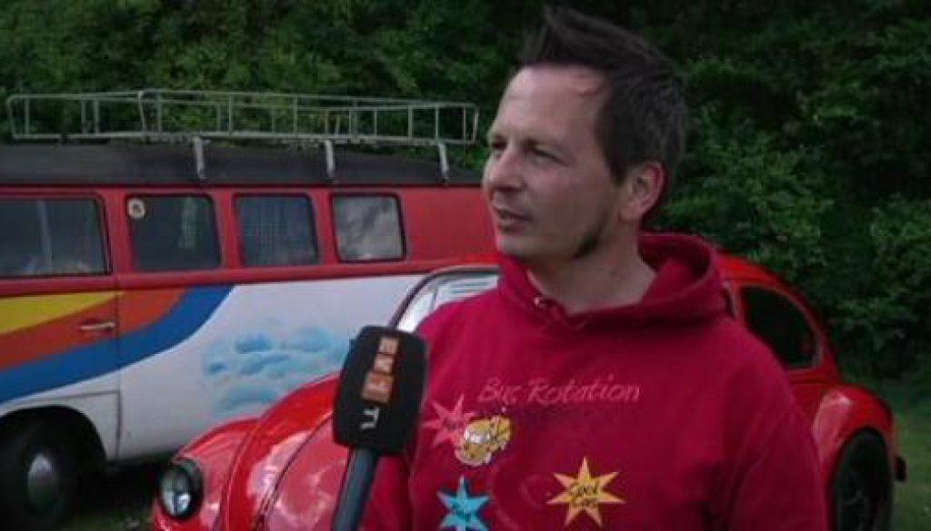 Großes VW-Käfertreffen am Geester Speichersee
