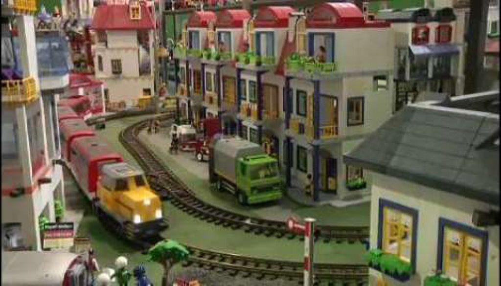 Riesige Playmobilstadt in Lathen