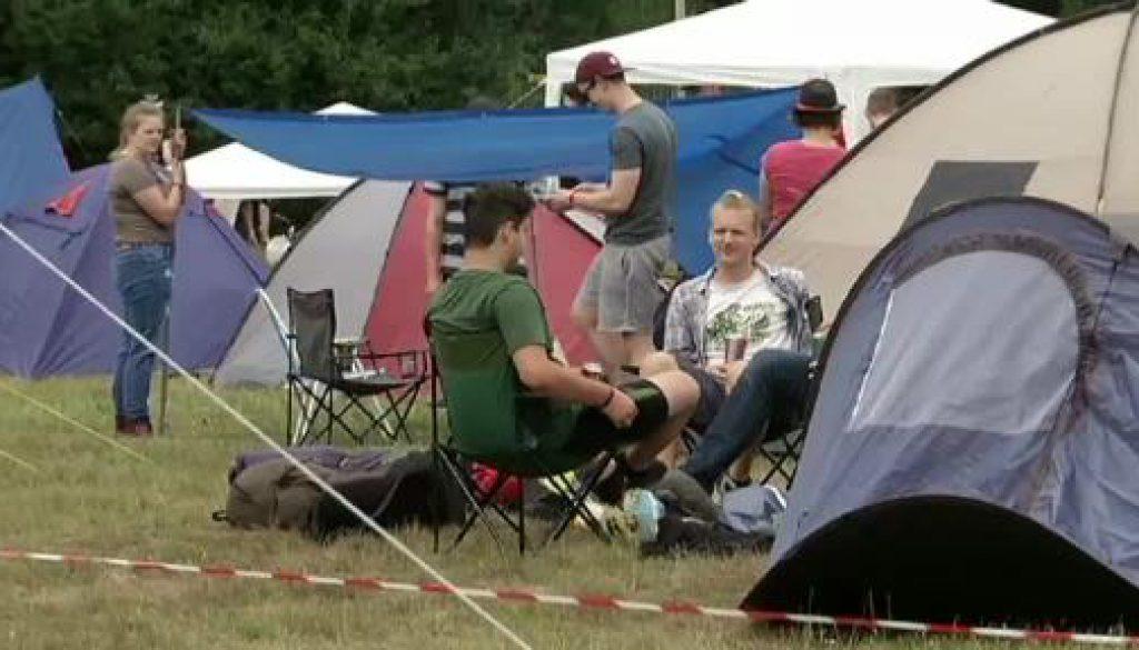 Musik, Camping, Party - Abifestival gestartet