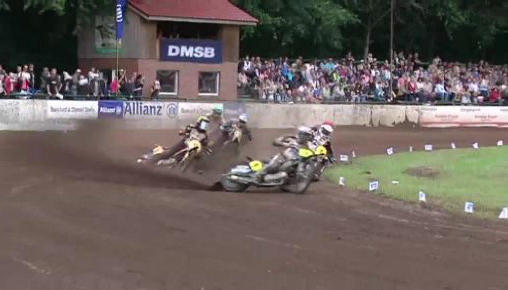 Lärm, Dreck, Spektakel - Sandbahnrennen in Werlte