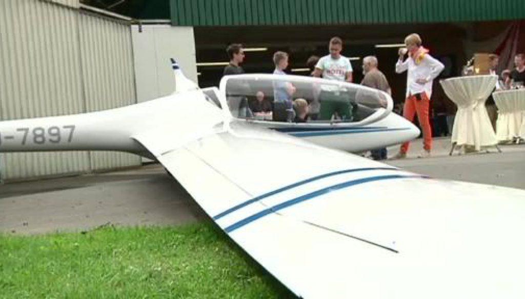 Segelflugverein Aschendorf-Herbrum präsentiert neuen Flieger