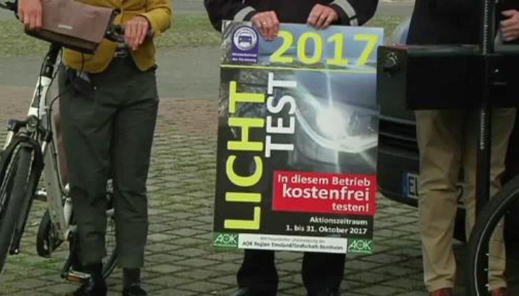 Freie Fahrt für gutes Licht - Lichttest 2017