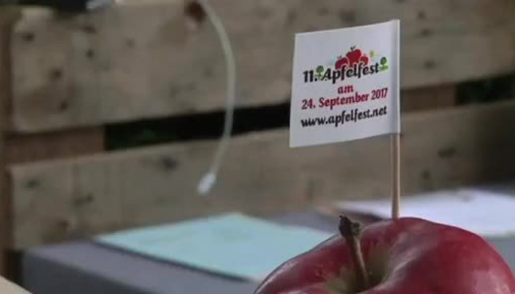 Apfelfest in Clusorth-Bramhar