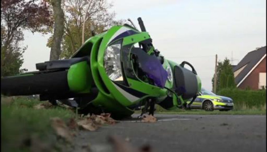 Tödlicher Motorradunfall in Lingen