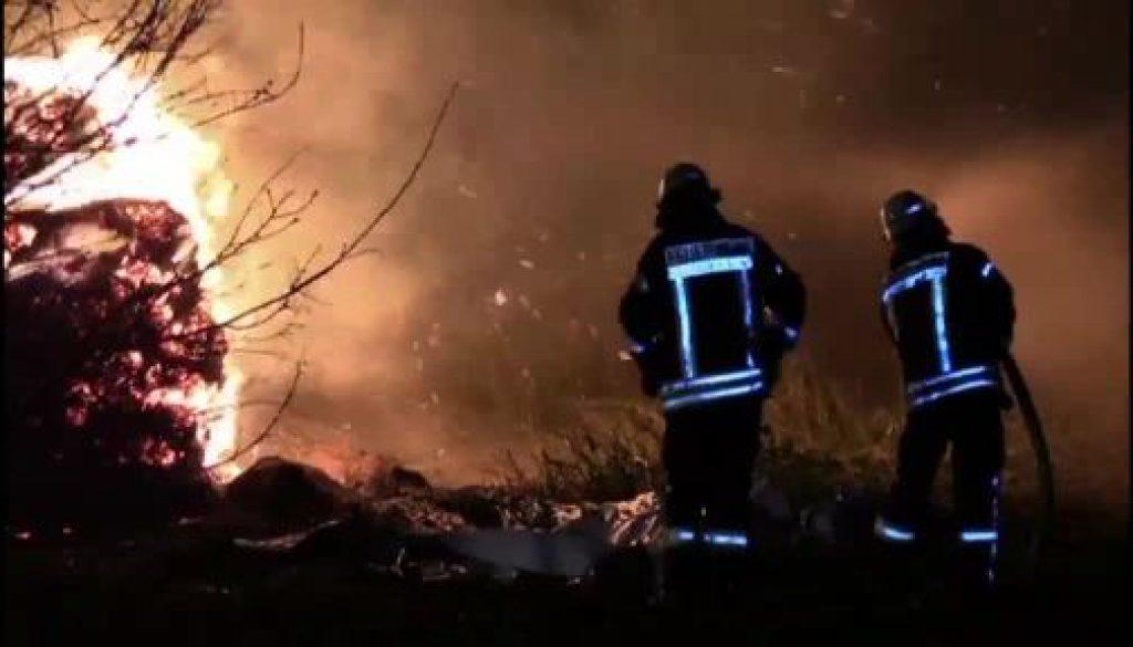 Feuer in Werlte und Lohne