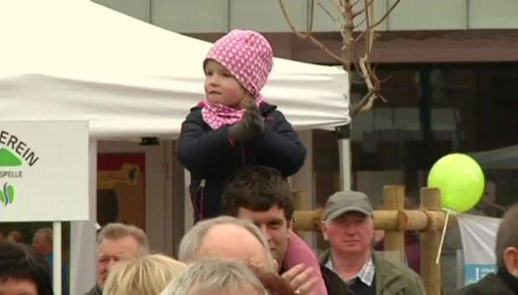 Marktplatz in Freren offiziell eröffnet