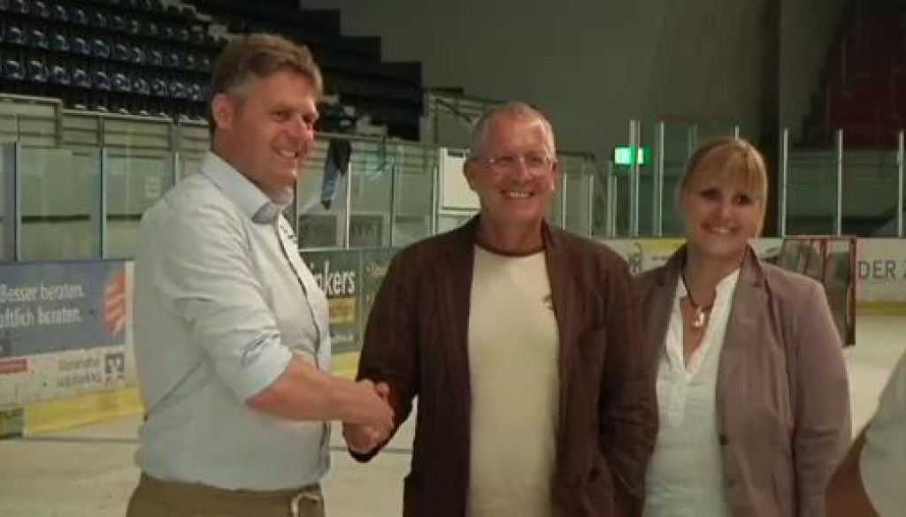 Eishockeyclub Nordhorn stellt neuen Trainer vor