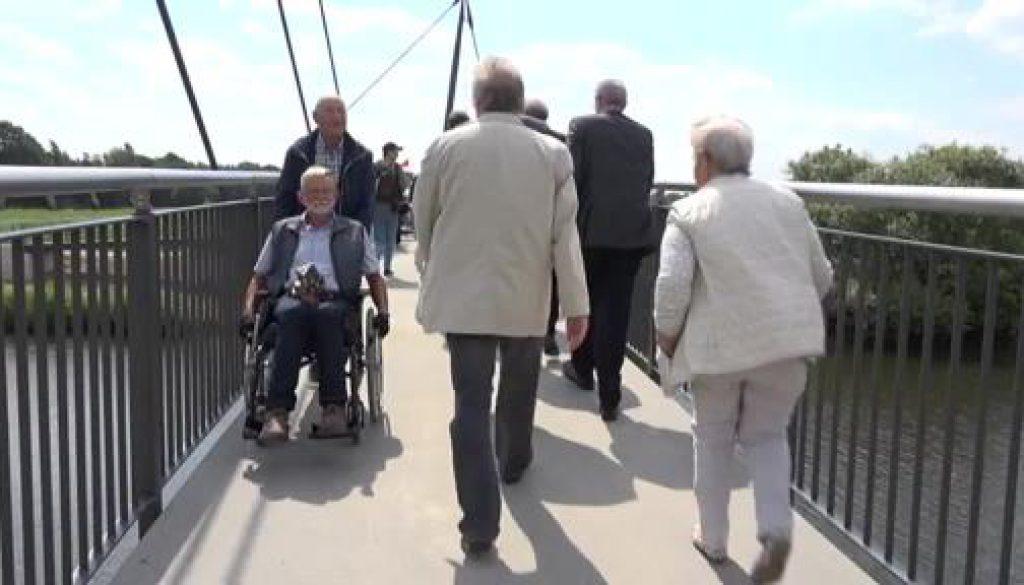 Fuß- und Radwegebrücke in Meppen eingeweiht