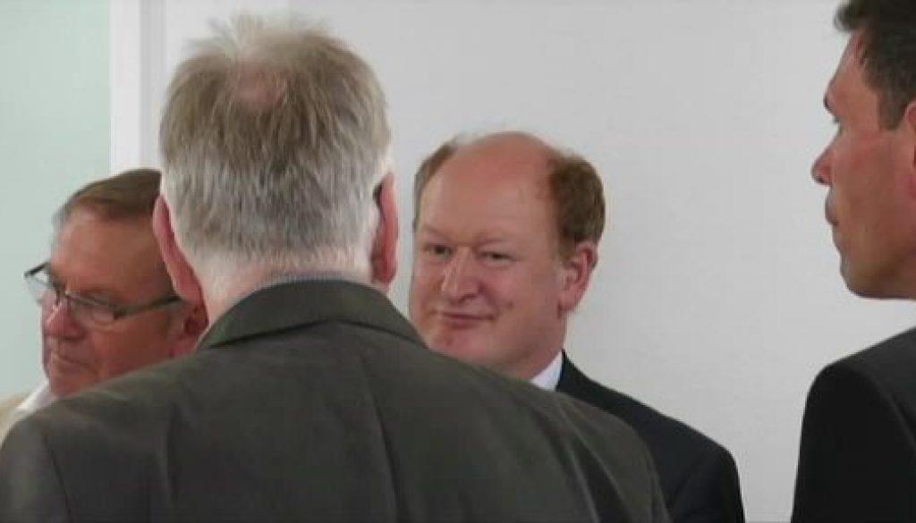 Finanzminister besucht MVZ in Werlte
