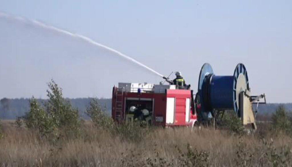 Moorbrand auf der WTD91 ist gelöscht