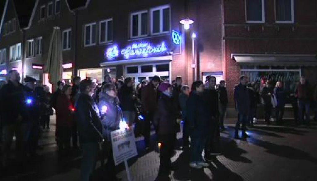 Meppen setzt Zeichen für Toleranz: Meppen #unteilbar