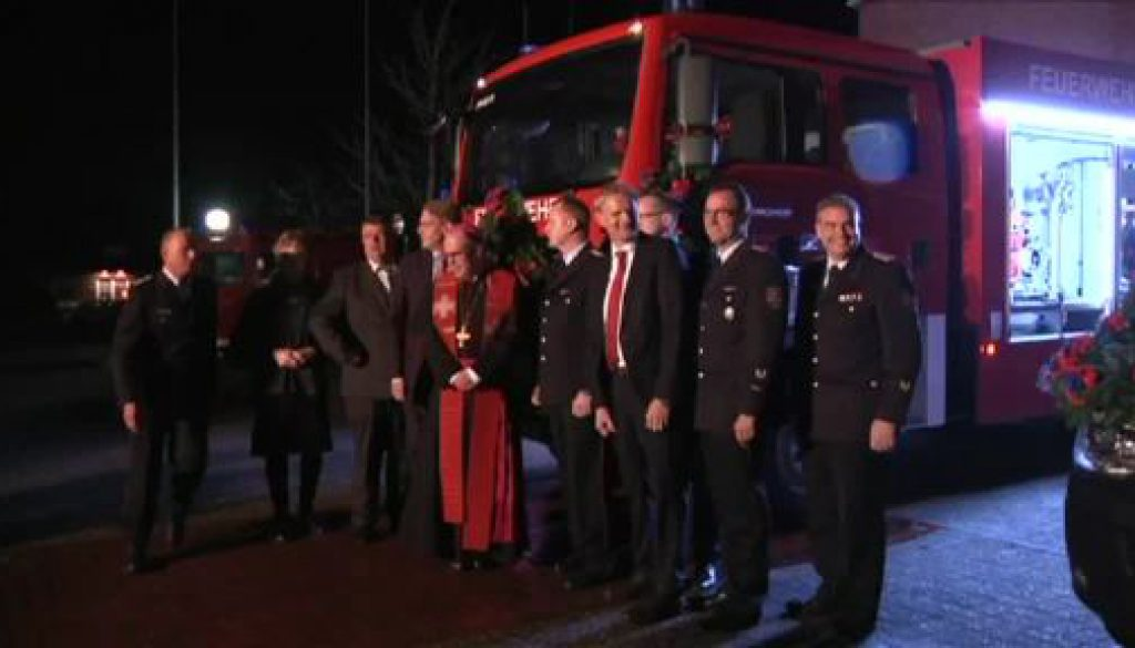 Die freiwillige Feuerwehr in Lengerich hat neue Einsatzfahrzeuge erhalten