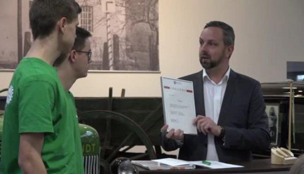 Speller Schülerfirma ReLaMa von Landesschulbehörde ausgezeichnet