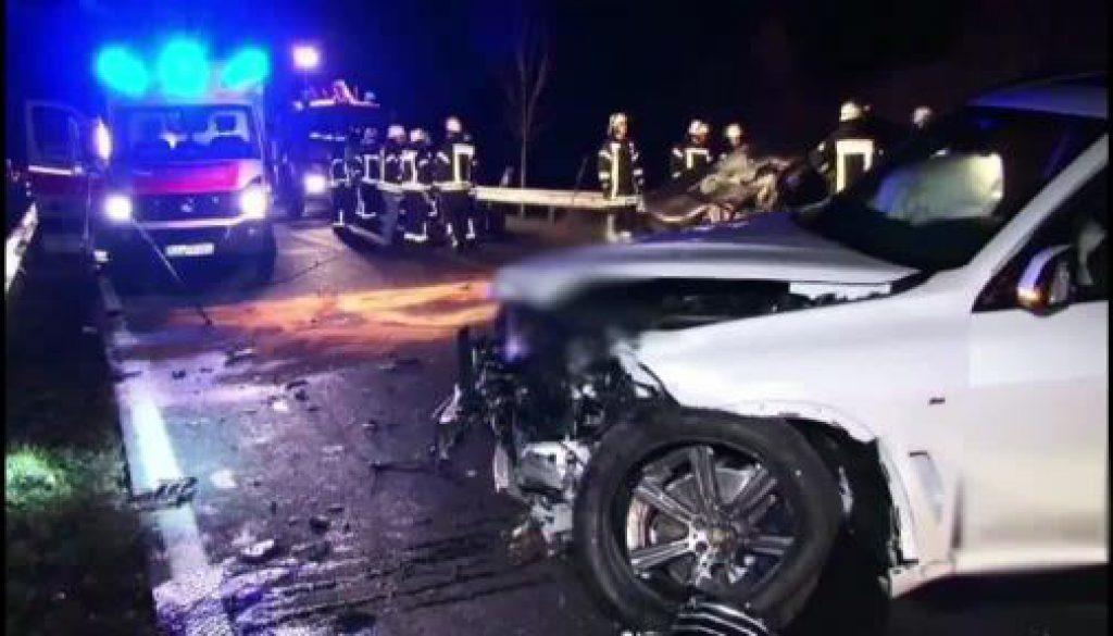 Tödlicher Verkehrsunfall in Thuine