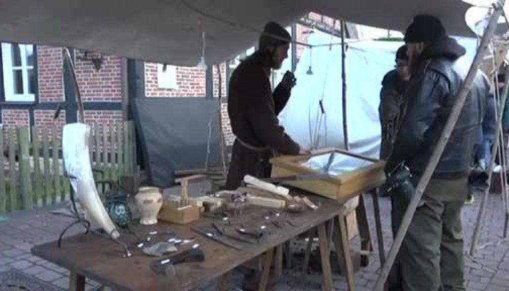 Erster Mittelalterlicher Weihnachtsmarkt in Lengerich