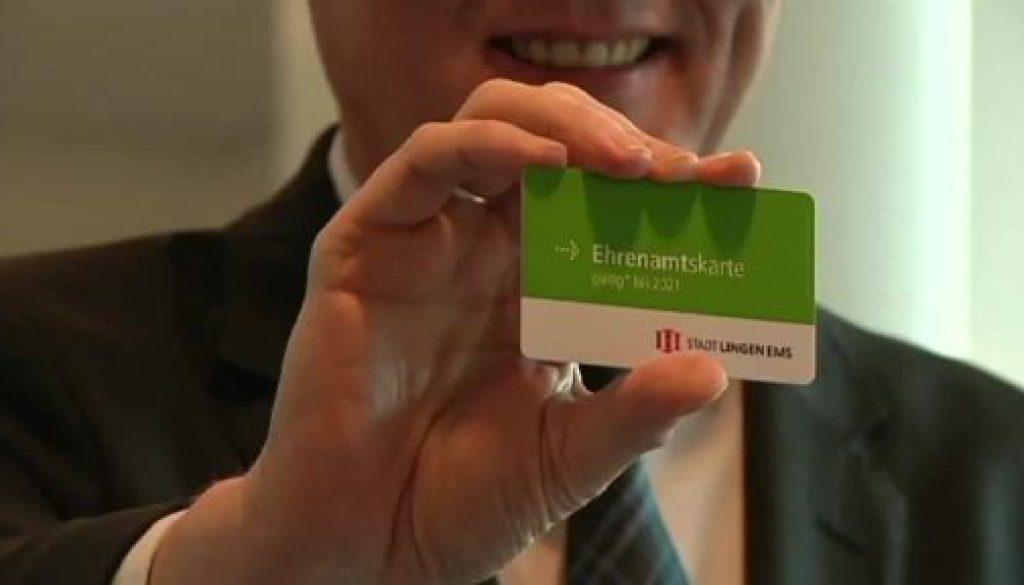 Stadt Lingen führt Ehrenamtskarte ein