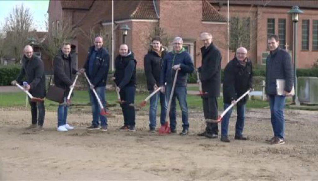 Erster Spatenstich für neuen Dorfladen in Geeste-Osterbrock
