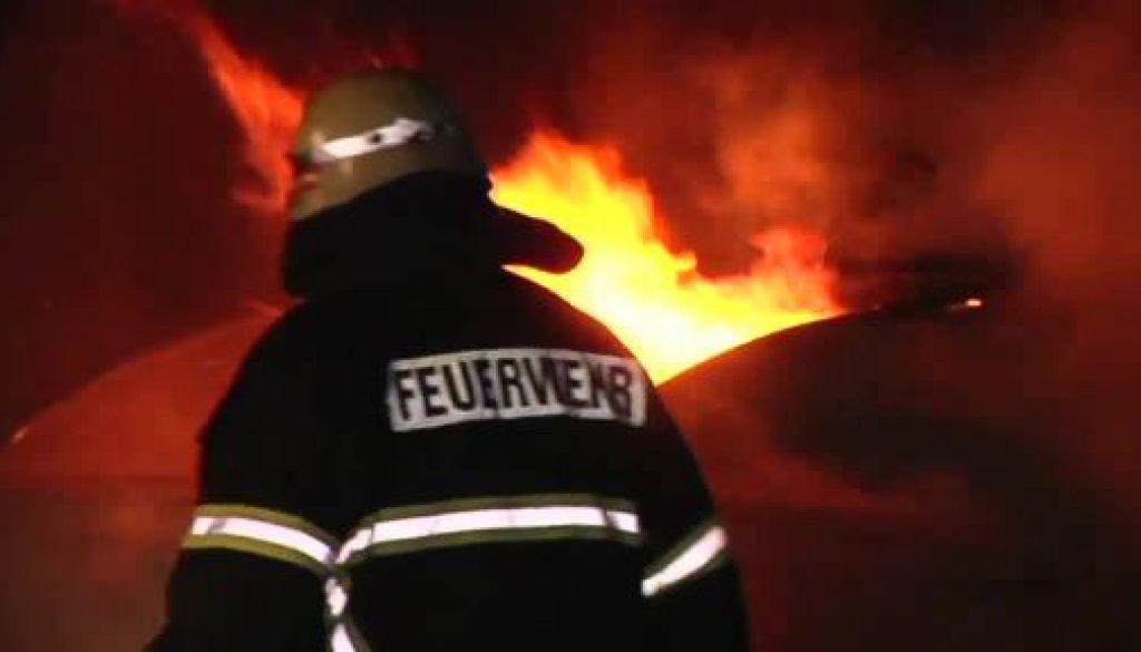 Erneuter Brand an Erstaufnahmelager