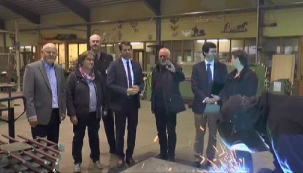 Wirtschaftsminister Olaf Lies besucht Johannesburg