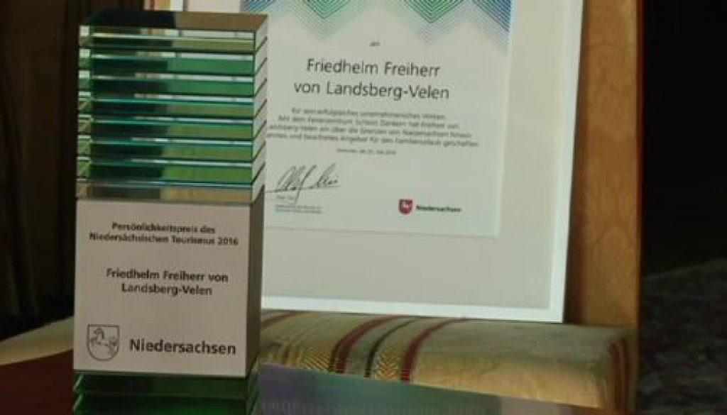 Persönlichkeitspreis des Niedersächsischen Tourismus