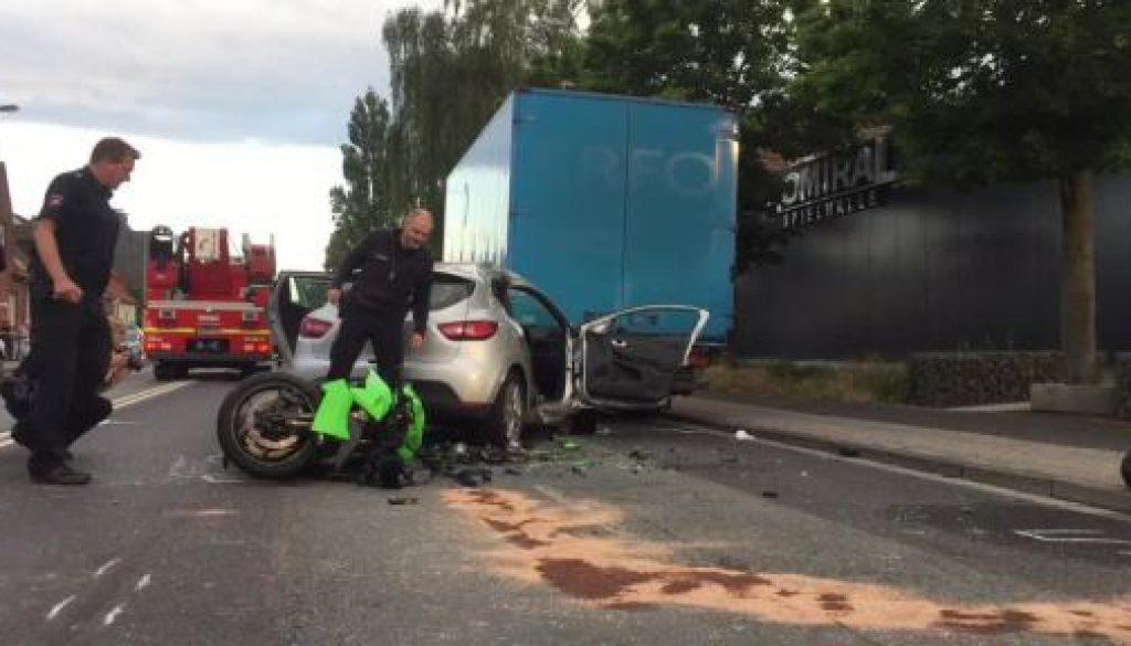 Motorradfahrer stirbt bei Unfall in Nordhorn