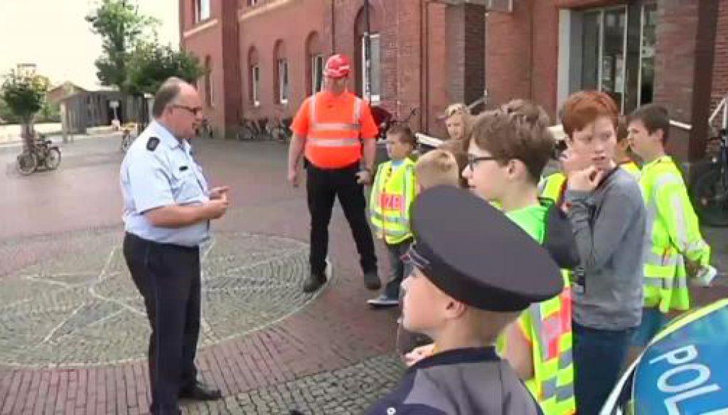 Lokomotivführer für einen Tag - Ferienpassaktion an Lingener Bahnhof