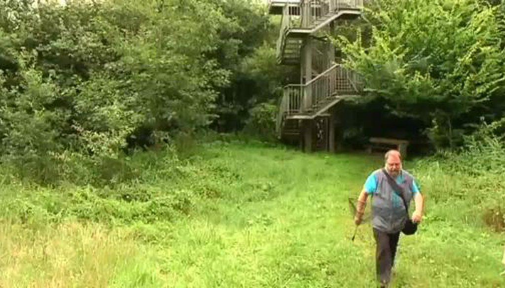 Nabu: Aussichtsturm wieder frei von Wespen