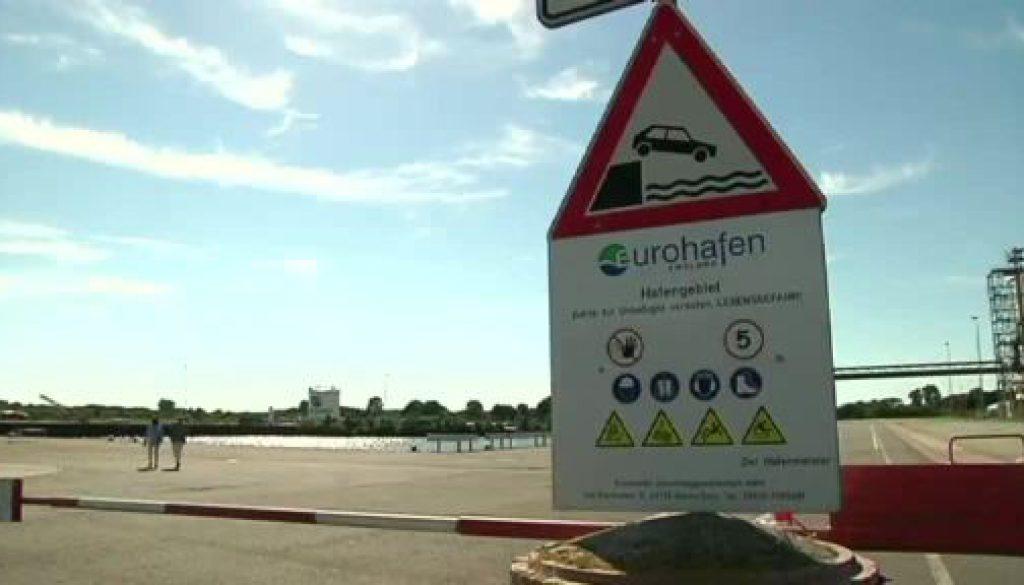 Eurohafen wird um 60 ha erweitert