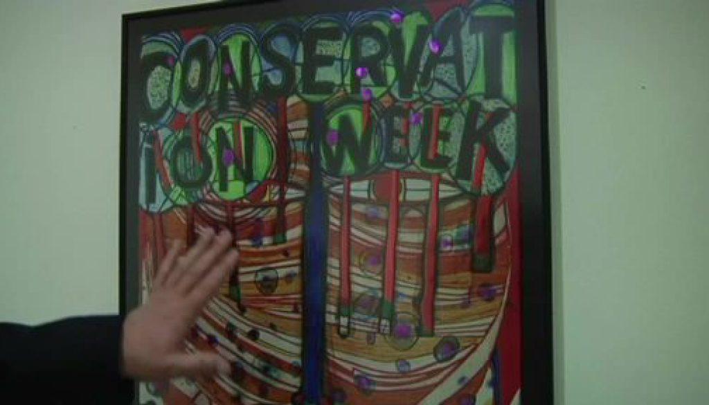 Hundertwasser-Ausstellung ab Samstag in Meppen