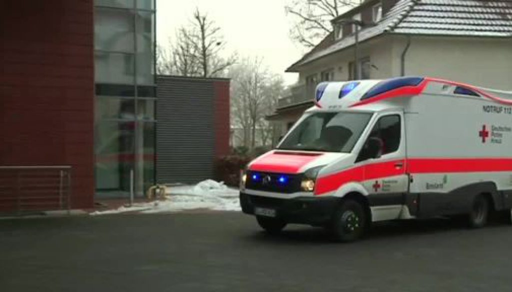 Schlittenfahrt endete für einige Emsländer im Krankenhaus